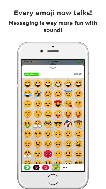 Emoji Tones - emoji with sound screenshot 5