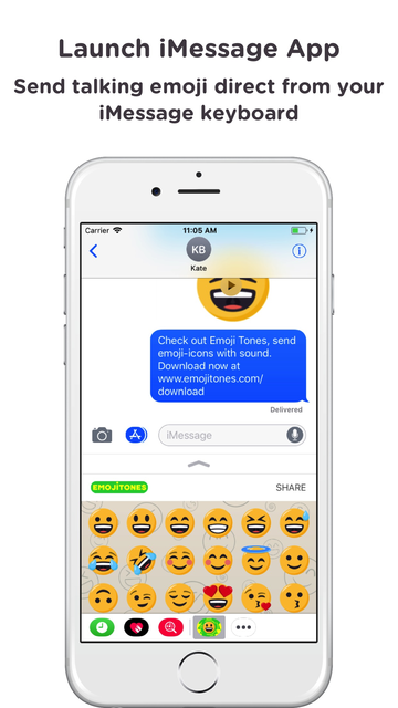 Emoji Tones - emoji with sound screenshot 6