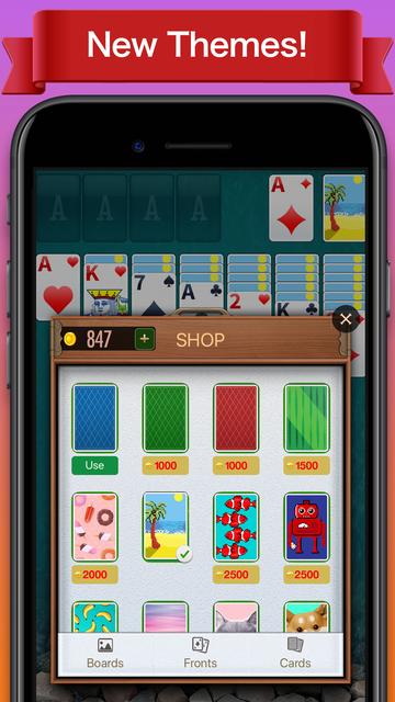 Solitaire∗ screenshot 6