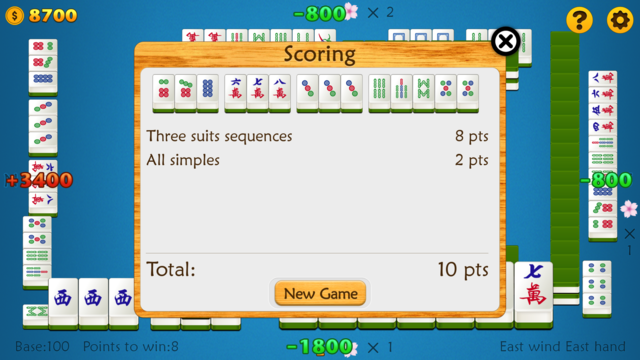 Mahjong 88 Points screenshot 5