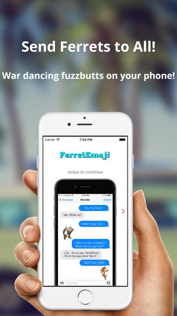 FerretEmoji Ferret Keyboard screenshot 4
