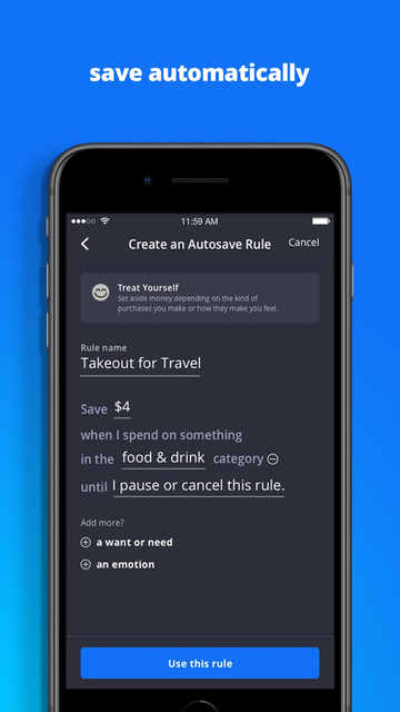 About: Finn by Chase℠ (iOS App Store version) | Finn by