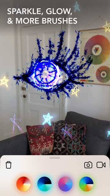 LightSpace - 3D painting in AR screenshot 8
