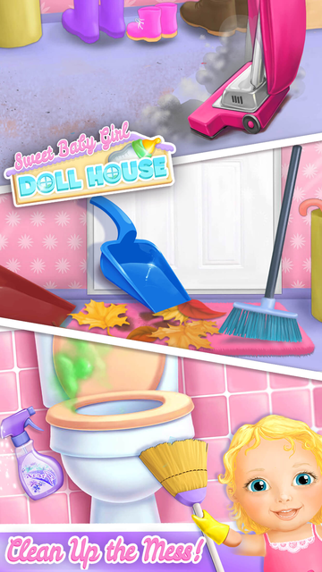 Sweet Baby Girl Doll House screenshot 4