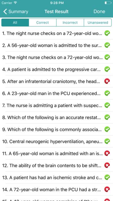 PCCN Exam Prep - 2017 Edition screenshot 5