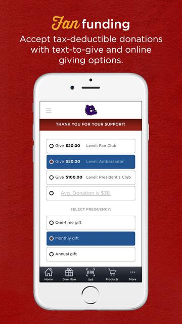 Fan Club Fundraising screenshot 3