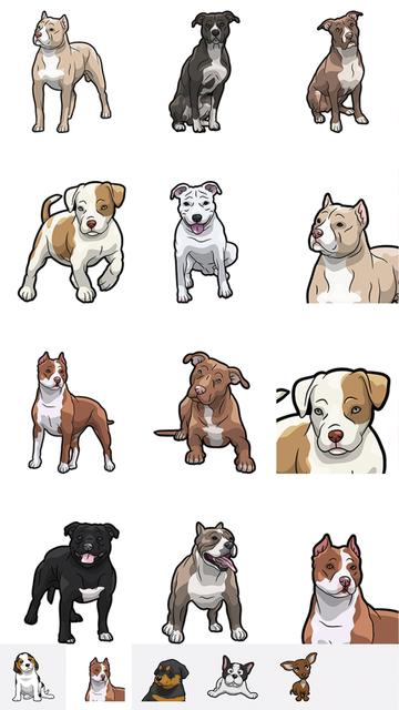 PitMoji - Dog Emoji & Stickers screenshot 2