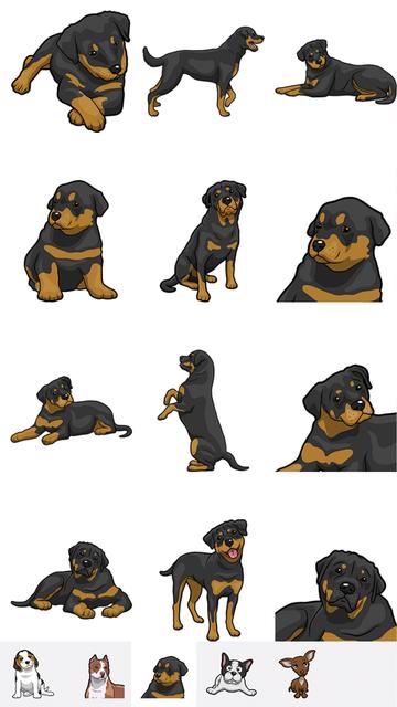 PitMoji - Dog Emoji & Stickers screenshot 3