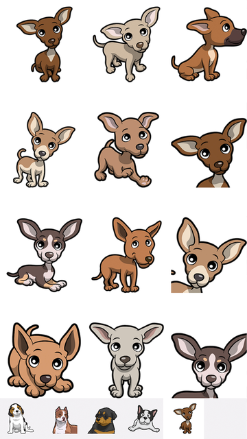 PitMoji - Dog Emoji & Stickers screenshot 5