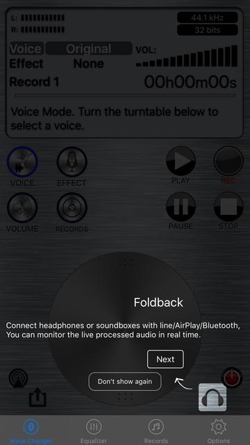 Live Voice Changer - Prankcall screenshot 6