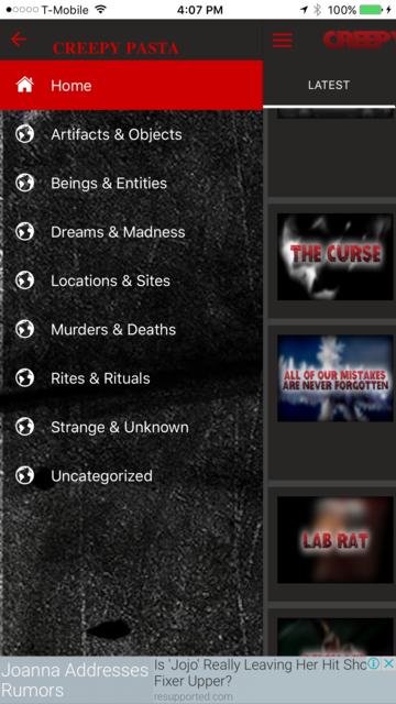 Creepypasta.com screenshot 7