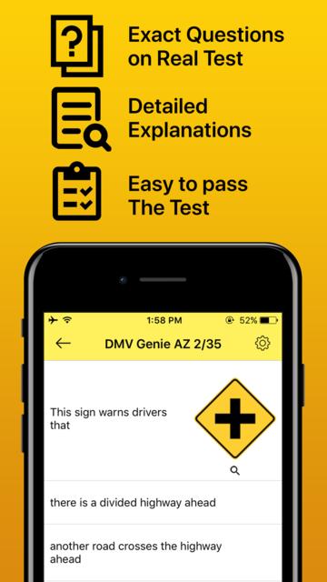 Drivers License Permit Test screenshot 1