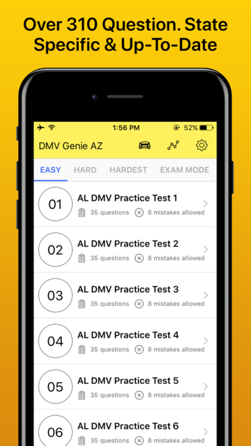 Drivers License Permit Test screenshot 2