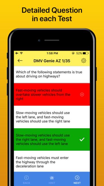 Drivers License Permit Test screenshot 3