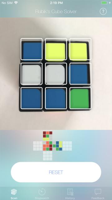 Cube Solver screenshot 2