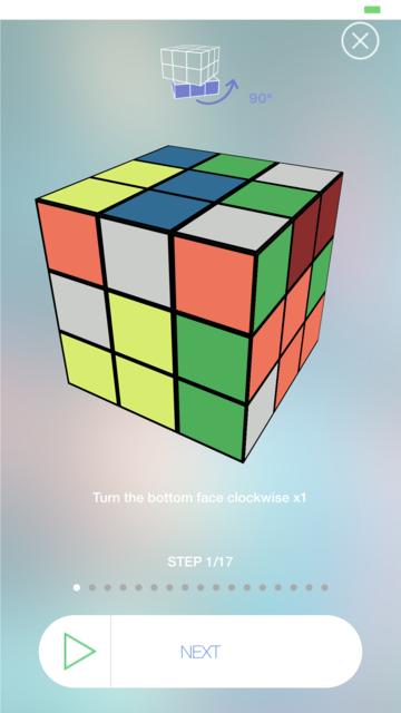 Cube Solver screenshot 3