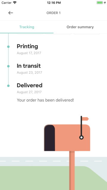 Custom Ink Order Tracker screenshot 4