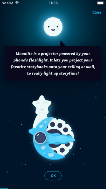 Moonlite Storytime Projector screenshot 3