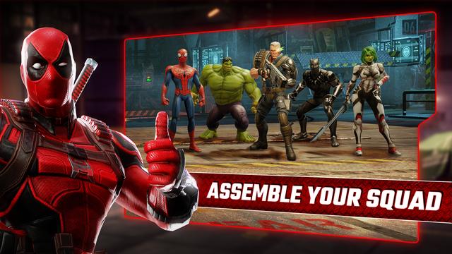 MARVEL Strike Force: Squad RPG screenshot 6