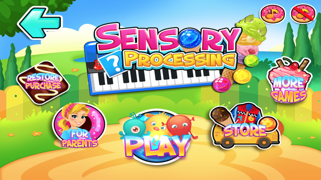 The Sensory Processing Game screenshot 1