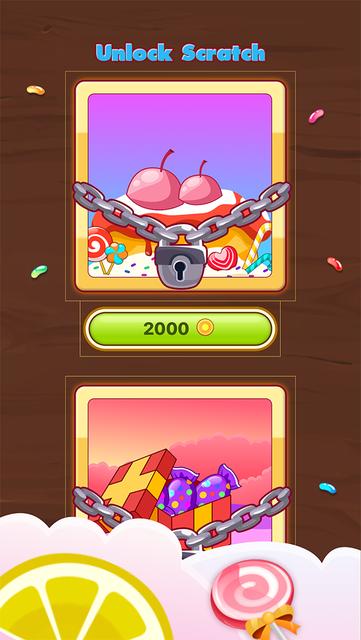 Candy Scratch - Sweet Prize screenshot 9