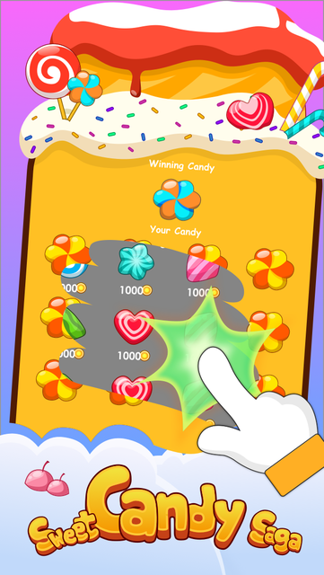 Candy Scratch - Sweet Prize screenshot 17
