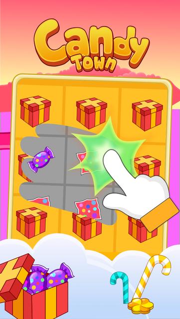 Candy Scratch - Sweet Prize screenshot 1