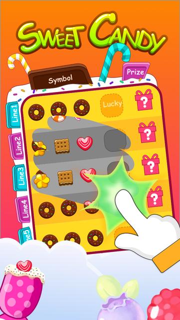 Candy Scratch - Sweet Prize screenshot 3