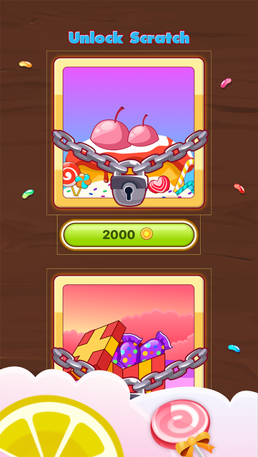 Candy Scratch - Sweet Prize screenshot 4