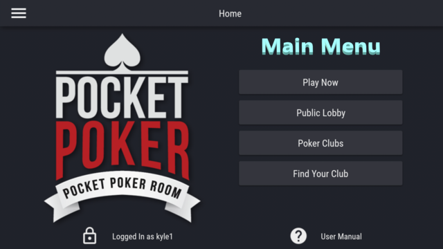 Pocket Poker Room screenshot 5