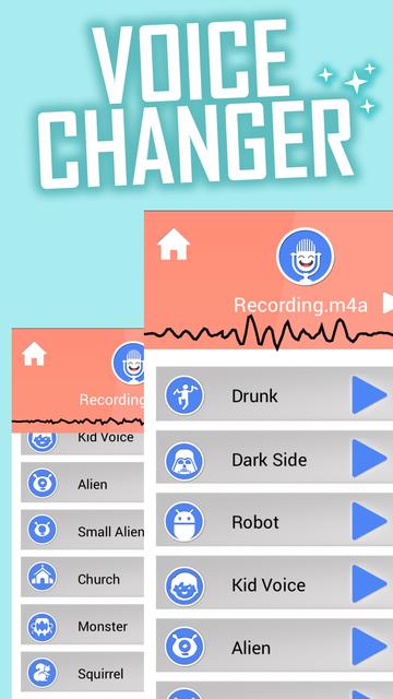 Voice Changer Sounds Effects screenshot 10