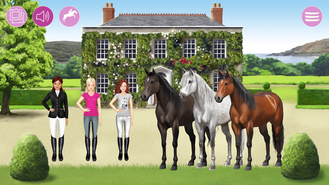 Horse and rider dressing fun screenshot 2