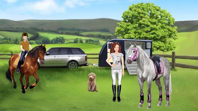 Horse and rider dressing fun screenshot 4