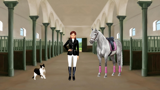 Horse and rider dressing fun screenshot 6