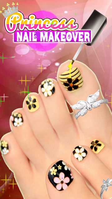 Princess Toe-Nail MakeOver Art screenshot 1