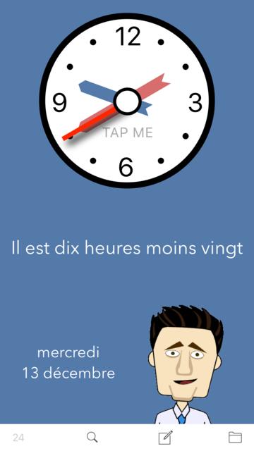 Learn French. Time. screenshot 1