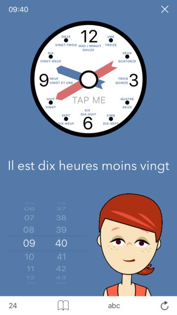 Learn French. Time. screenshot 2