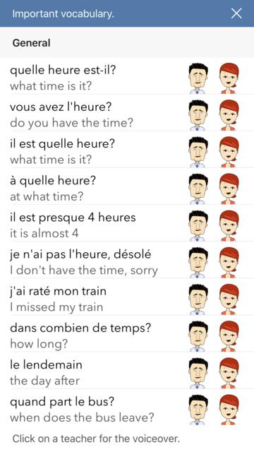 Learn French. Time. screenshot 4