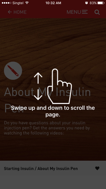 LillydiabetesME screenshot 3