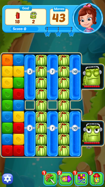 Fruit Cube Blast: Match 3 Game screenshot 9