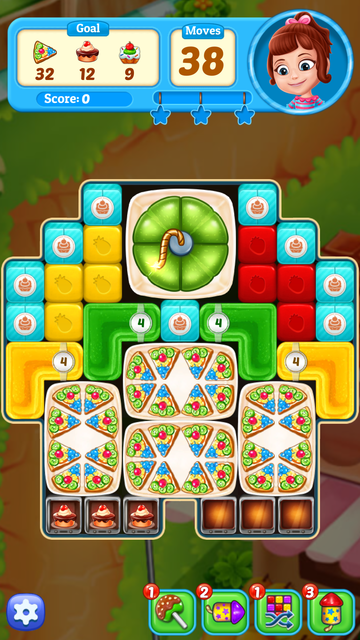 Fruit Cube Blast: Match 3 Game screenshot 10