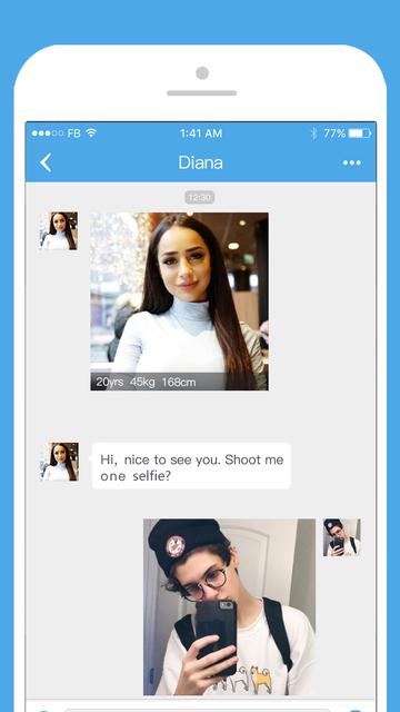 Get Naughty-Talk to strangers screenshot 5
