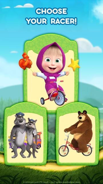 Masha and the Bear: Car Games screenshot 2