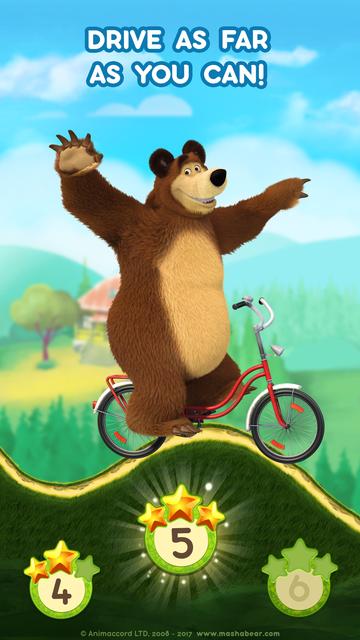 Masha and the Bear: Car Games screenshot 3