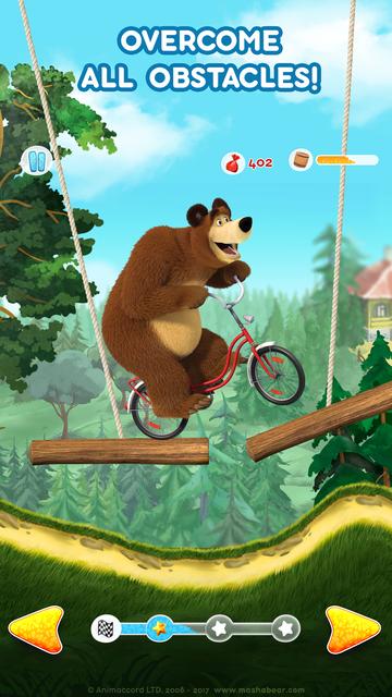 Masha and the Bear: Car Games screenshot 7