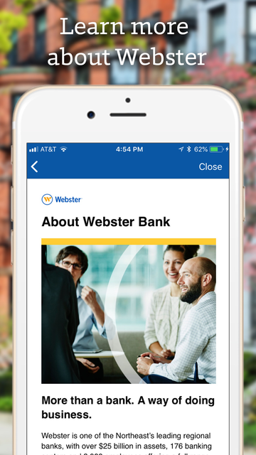 Webster Bank Mobile screenshot 6