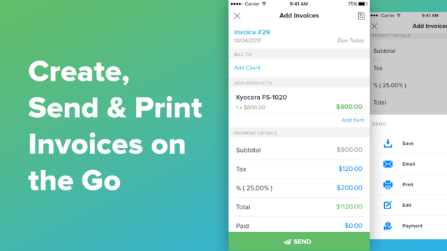 Invoice Maker · Acounting screenshot 5