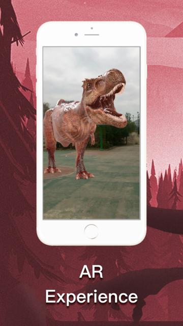 DinoCube AR - Dinosaurs Live! screenshot 1