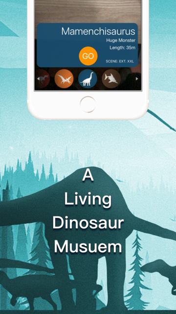 DinoCube AR - Dinosaurs Live! screenshot 2