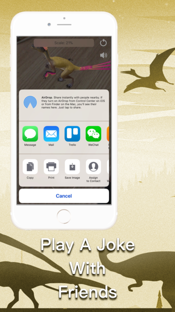 DinoCube AR - Dinosaurs Live! screenshot 3